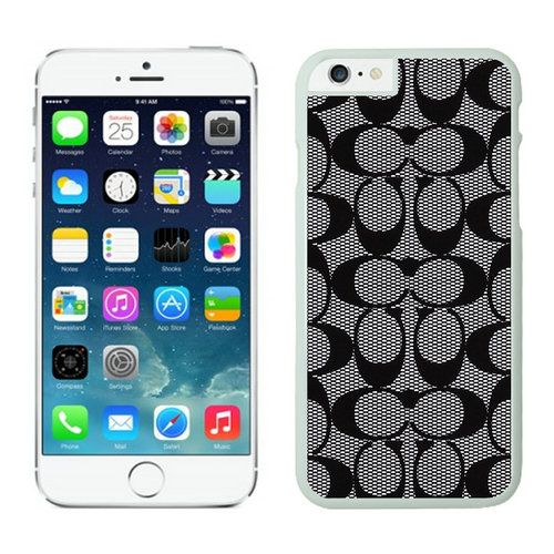 Coach Big Logo Grey iPhone 6 Cases FAA