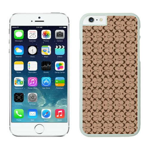 Coach Logo In Signature Camel iPhone 6 Cases EZM