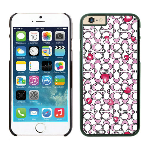 Coach Love Logo Pink iPhone 6 Cases EZT