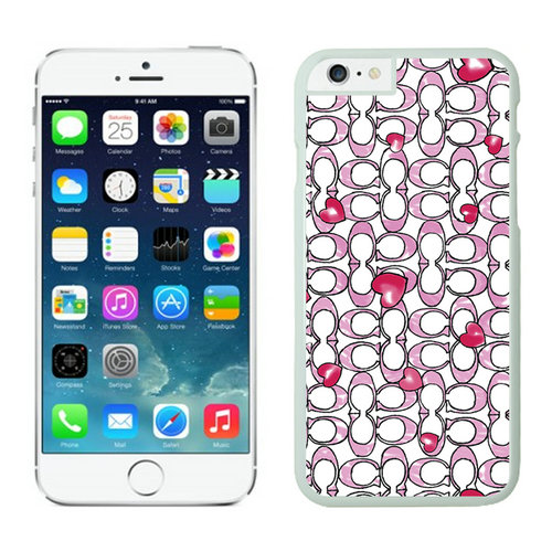 Coach Love Logo Pink iPhone 6 Cases EZU