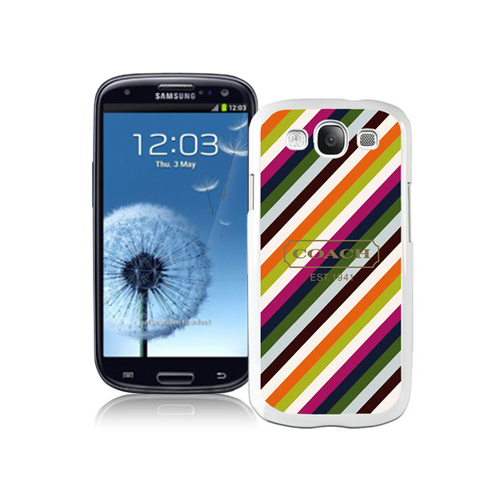 Coach Stripe Multicolor Samsung Galaxy S3 9300 BGL