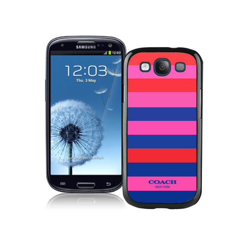 Coach Stripe Multicolor Samsung Galaxy S3 9300 BGQ