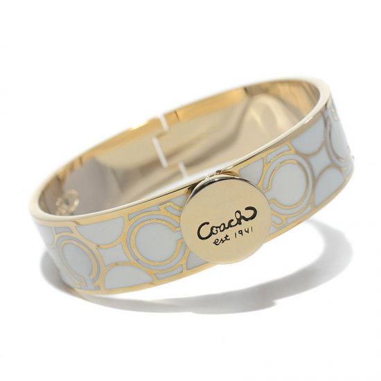 Coach Linked Signature C White Bracelets AKV